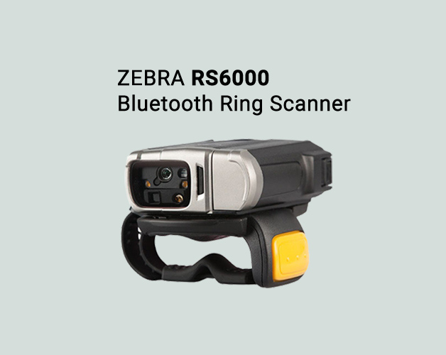 Zebra RS6000 bluetooth ring scanner
